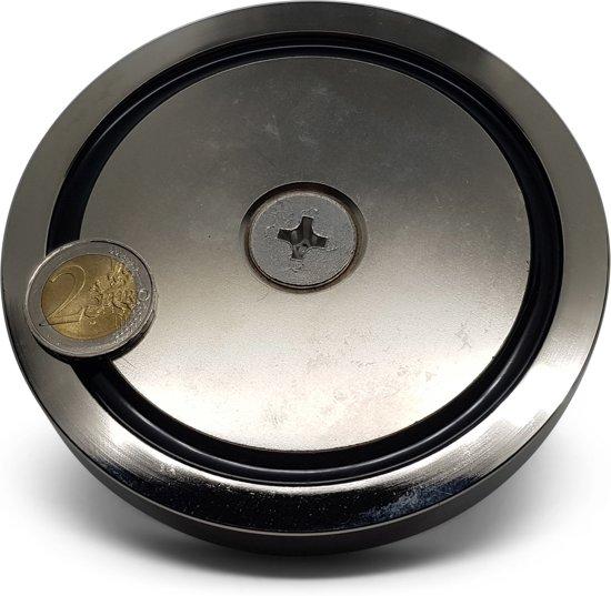 Super sterke Vismagneet - 500 kg - voor magneetvissen - vis magneet -  magneet vissen - onderwater vis magneet - met schroefdraadborgmiddel (10 ml)