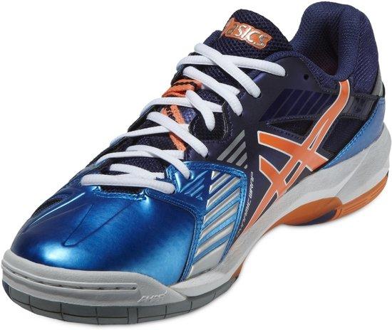 Asics Gel Sensei 5 B402Y-4101, Mannen, Blauw, Volleybalschoenen maat: 46.5 EU