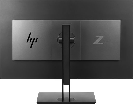 HP Z27n G2 27'' Quad HD LED Zilver computer monitor