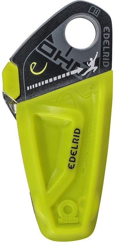 Edelrid Ohm vangt gewichtsverschil zekeraar/klimmer op tot 40kg