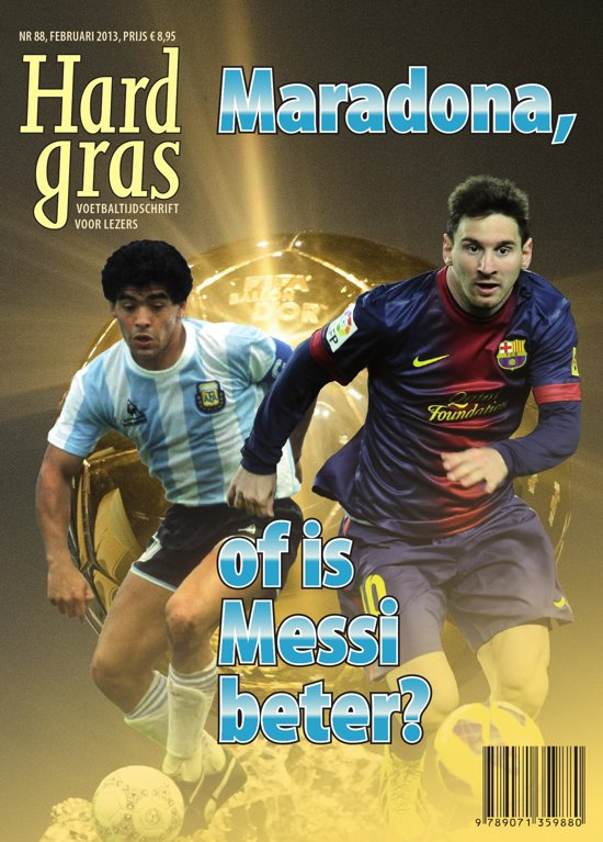 Cover van het boek 'Hard gras 88'