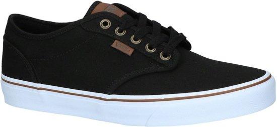 Vans Heren Maat Sneakers 44 Black 5 Atwood white rx6STRwr