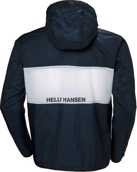 Helly Hansen Active Windbreker Anorak Heren, navy Maat M