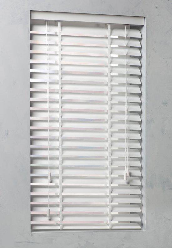 Voorkeur bol.com | Horizontale Aluminium Jaloezie 50mm - 70x130 - Wit JG85