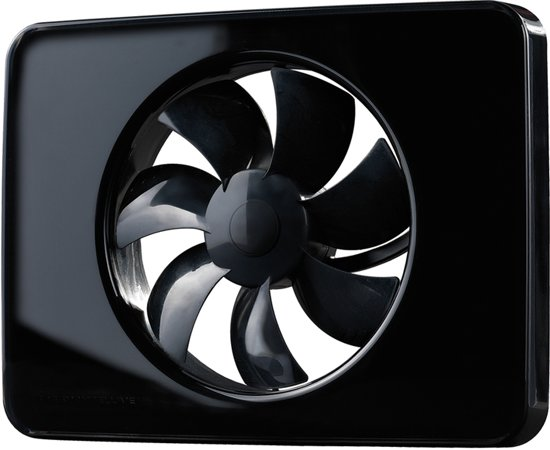 Ventilator Badkamer Stil : Bol.com nedco intellivent 2 ventilator zwart 22 db