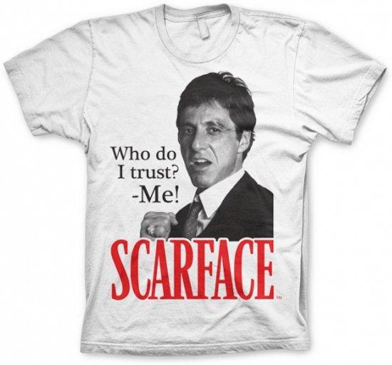 T-shirt Scarface Who Do I Trust S