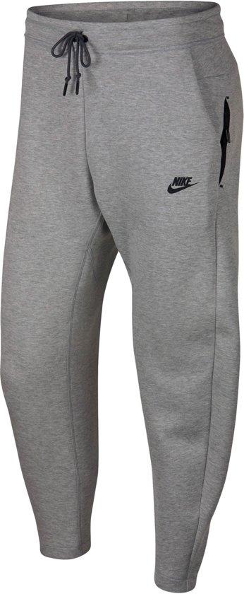 e9ca4491b67 Nike Tech Fleece Pant OH Joggingsbroek Heren - Dk Grey Heather/Dark Grey/(