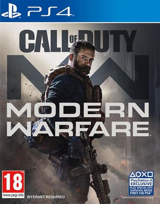 Cover van de game Call of Duty: Modern Warfare - PS4