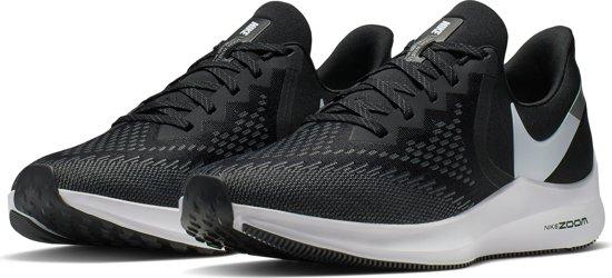 Nike Zoom Winflo 6 Sportschoenen Heren - Zwart/Wit