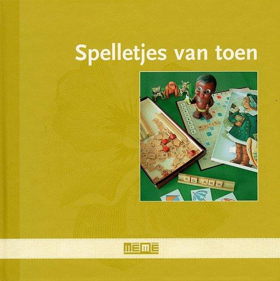 Cover van het boek 'Spelletjes van toen' van C. Jansen