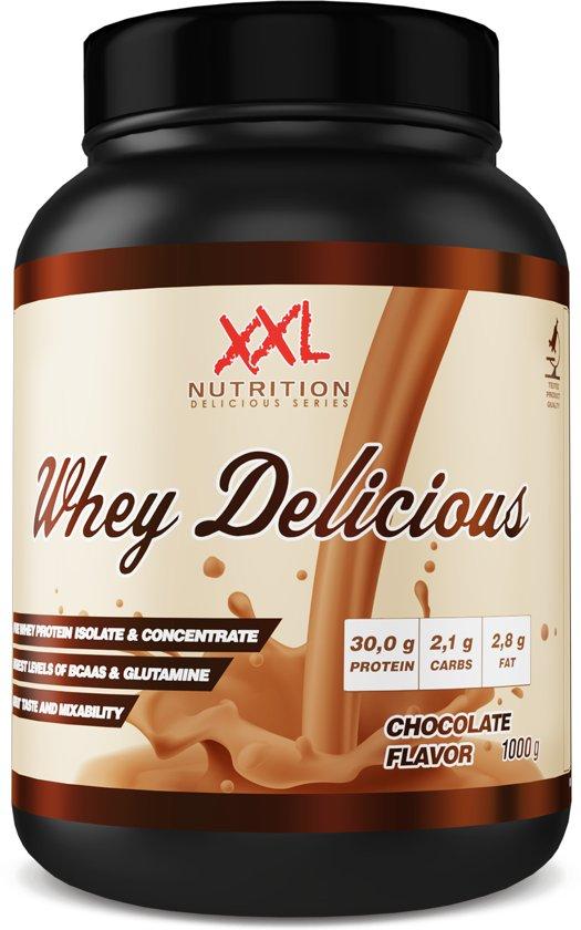 XXL Nutrition Whey Delicious - Chocolade - 1000 gram