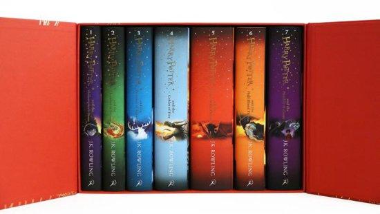 Boek cover Harry Potter boxset (1-7) van J.K. Rowling (Hardcover)