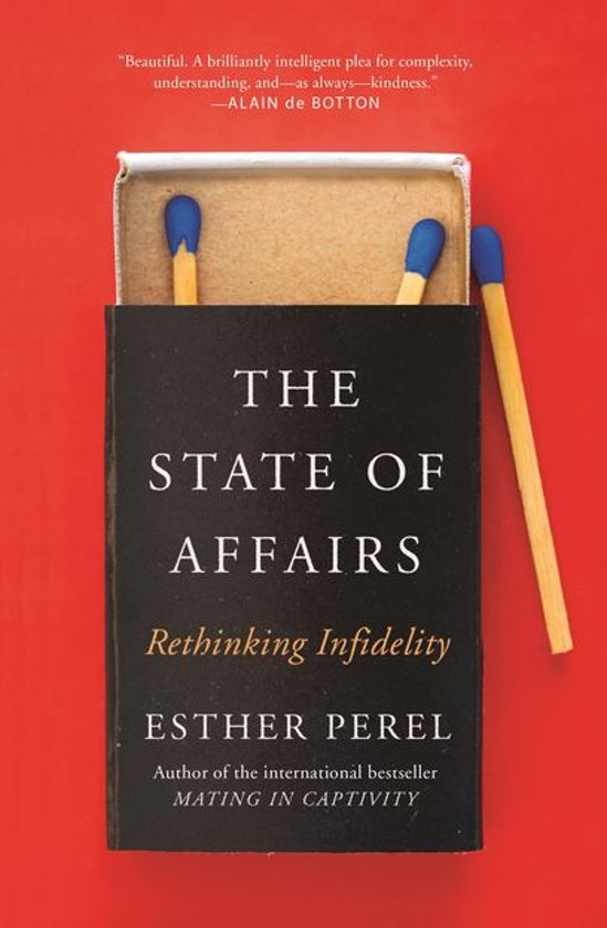 Boek cover The State Of Affairs van Esther Perel