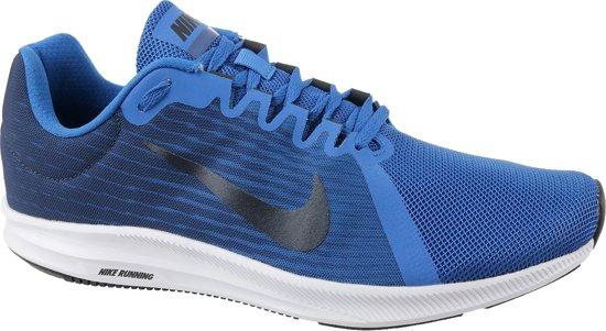 the best attitude f3f64 b0f94 Nike Downshifter 8 Hardloopschoenen Heren Hardloopschoenen - Maat 42.5 -  Mannen - blauw/zwart