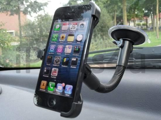 Autohouder iPhone 5/5S met Zuignap
