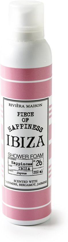 Ibiza Happiness Shower Foam 200ml
