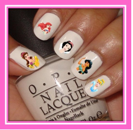 Bol Disney Nail Art Stickers 44 Velletjes Frozen Mickey