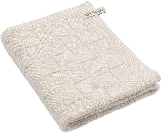 Knit Factory Badlaken 90x180 cm Ecru