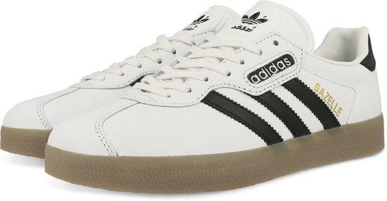 adidas gazelle dames zwart wit