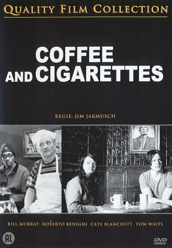 Cover van de film 'Coffee & Cigarettes'