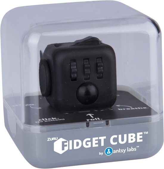 Fidget Cube Midnight - Friemelkubus