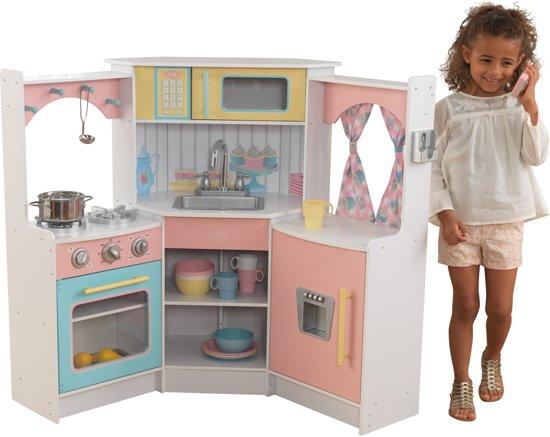 Kidkraft pink wooden kitchen wooden thing