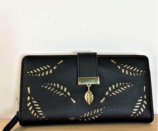 Zwarte Dames Portemonnee.Bol Com Fashionidea Mooie Zwarte Dames Portemonnee Van Pu Leer