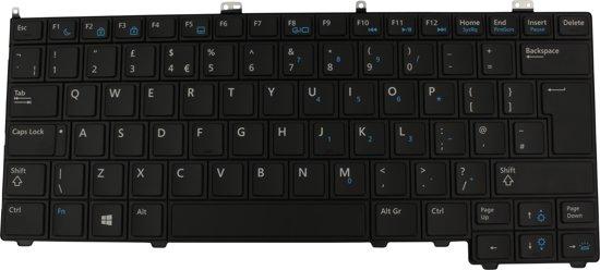 Dell 4380Y UK QWERTY Laptop Toetsenbord Verlicht (Origineel)