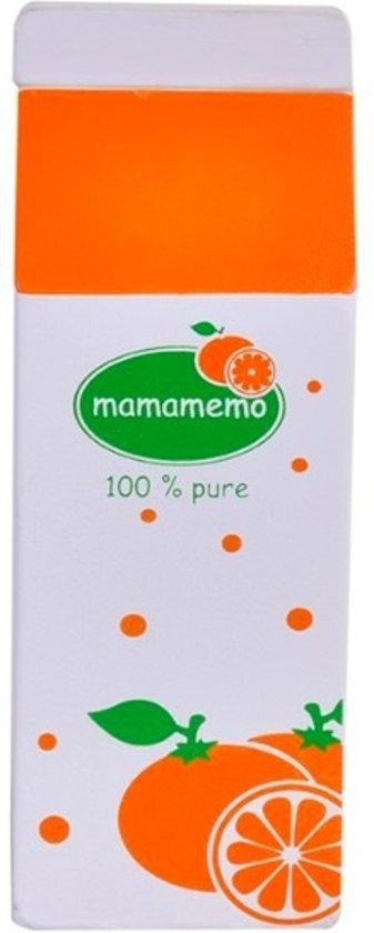 Mamamemo Pak Sinaasappelsap Hout 5 X 12 X 4 Cm Wit