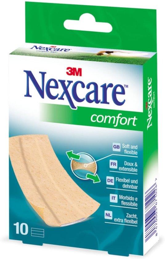 Nexcare™ Comfort pleisters, huidkleurig, 10 pleisters, 6 cm x 10 cm, N1170B