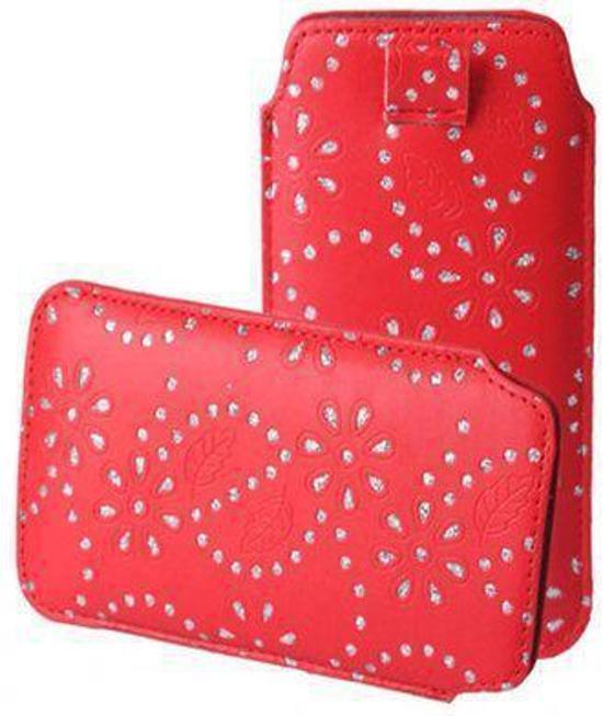 Bling Bling Sleeve voor uw Nokia Lumia 930, Rood, merk i12Cover