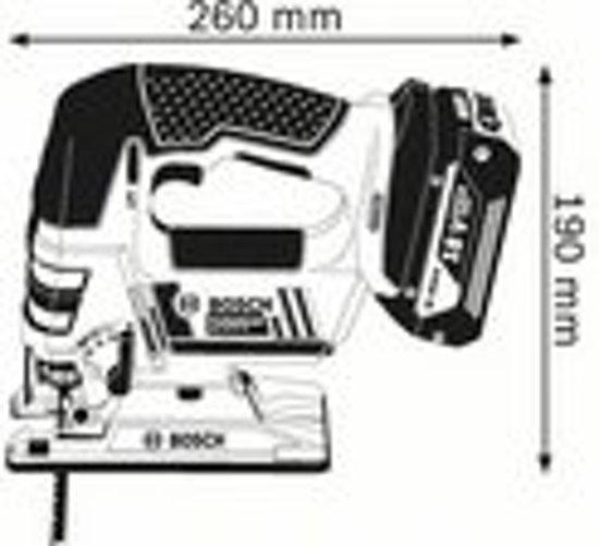 Bosch professional GST 18.0 V-Li Accudecoupeerzaagmachine be