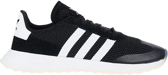 adidas Flashback Sneakers Dames Sportschoenen - Maat 40 2/3 - Vrouwen -  zwart/wit