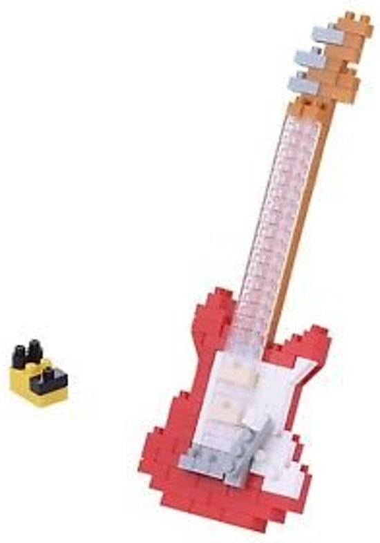 Nanoblock Electric Guitar Red NBC-171 (gitaar)