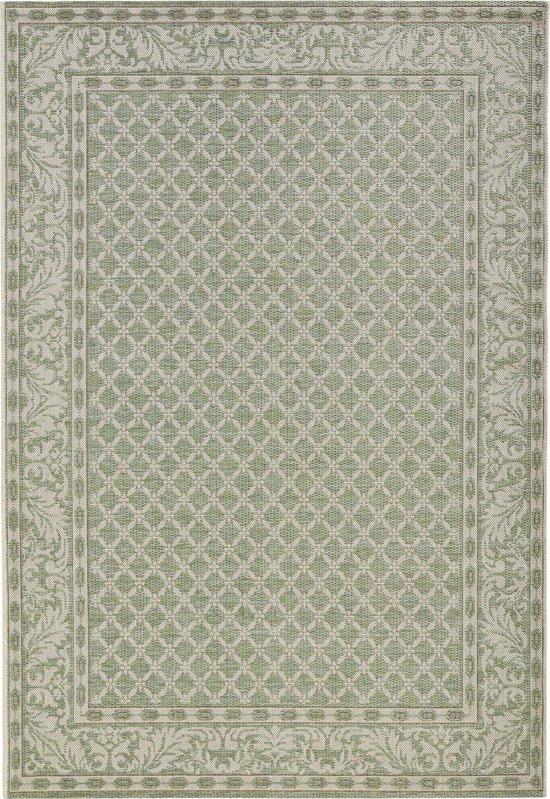 Vloerkleed - In&outdoor - Bougari Royal - Groen - 115x165cm geweven