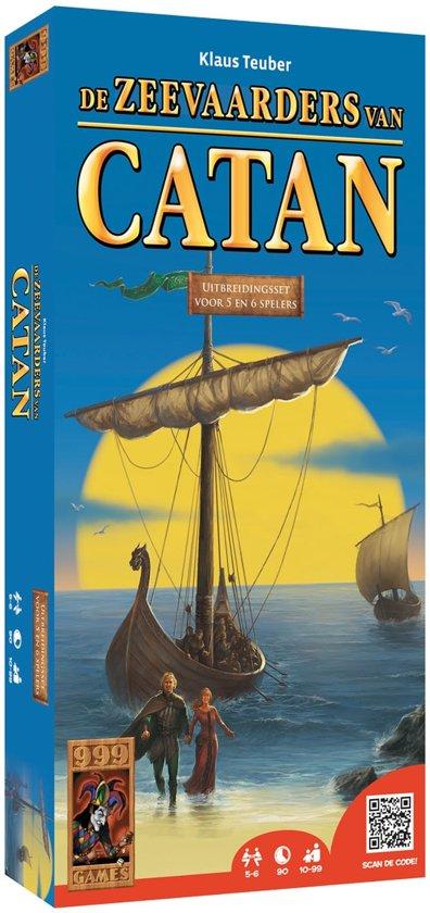 De kolonisten van Catan: De Zeevaarders van Catan uitbreidingset 5/6 spelers - Bordspel