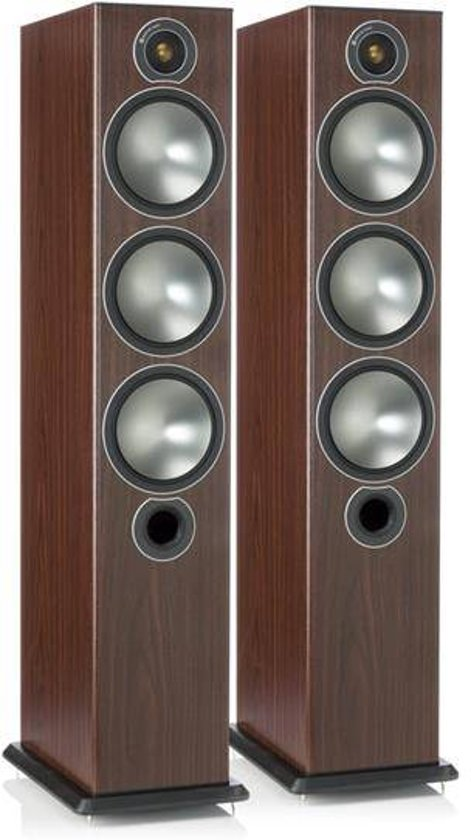 Monitor Audio Bronze 6 - Vloerstaande Speaker - Rosemah