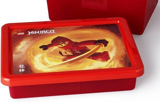 LEGO Ninjago The Movie Opbergbox met Deksel Small - Zwart