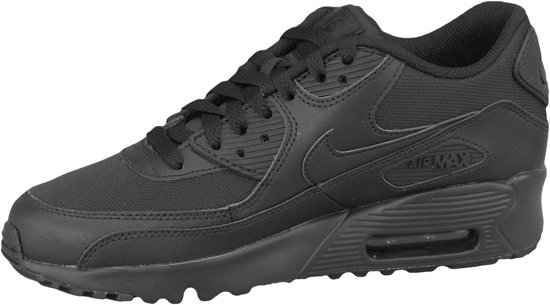 Nike Air Max 90 Mesh Sportschoenen Maat 38.5 Unisex zwart