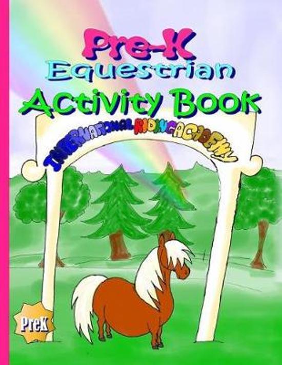 Pre-K Equestrian Activity Book