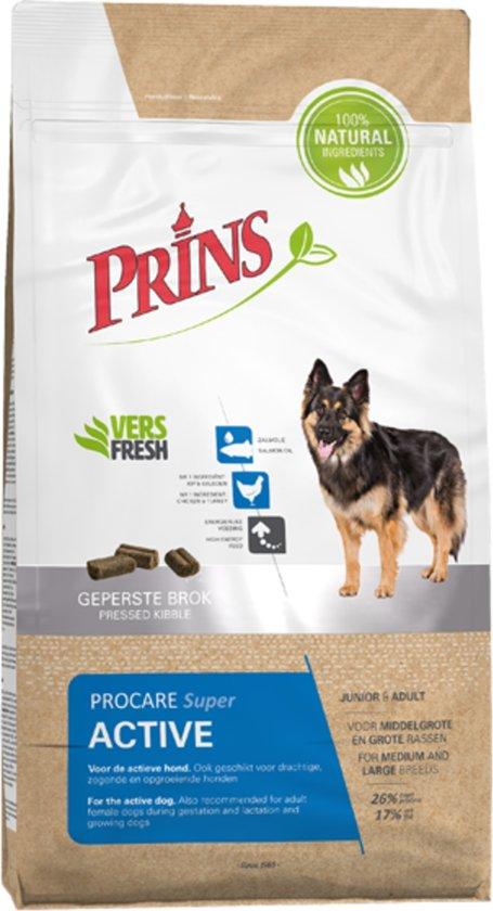 Prins Procare Super Active  - Hondenvoer - 15 kg