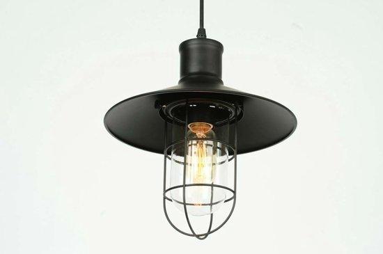 Hanglamp 5 Lampen : Bol industriele maritieme kooi hanglamp Ø cm zwart