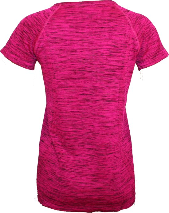 ShirtFuchsia S Yoga Lifestyle Sportshirt Dames Fitness Roze Maat Joga 08OyNnwPvm