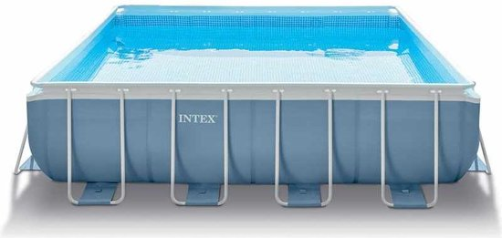 Intex Prism Frame 427 x 427 x 107 cm (met reparatiesetje)