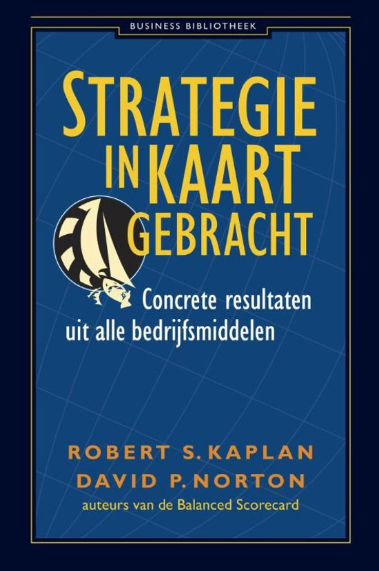 strategie in kaart gebracht kaplan en norton