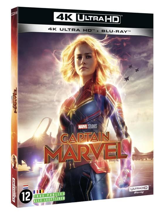DVD cover van Captain Marvel (4K Ultra HD Blu-ray)