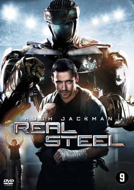 DVD cover van Real Steel