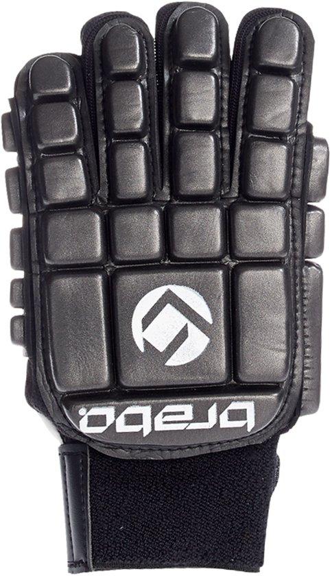 Brabo BP1064 Foam Glove F3 Indoor Sr. - Zaalhockeyhandschoen - Links - Maat M - Zwart