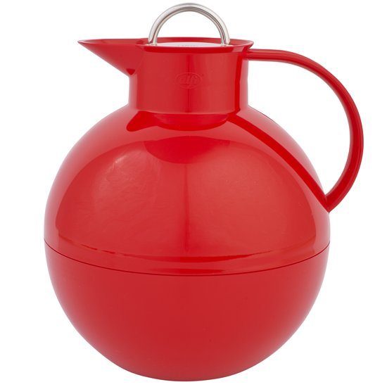 Thermoskan Alfi - 1 liter - rvs - rood