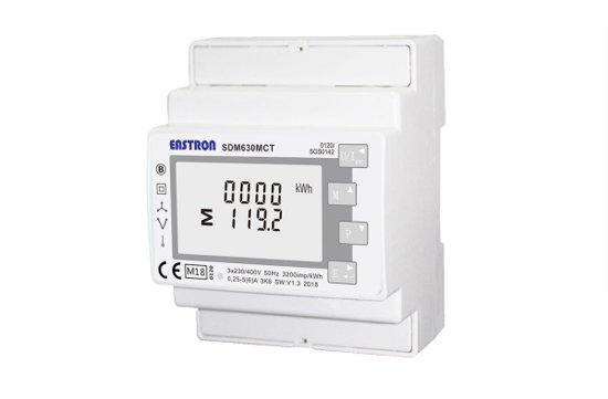 Eastron SDM630MCT-E-MID energiemeter